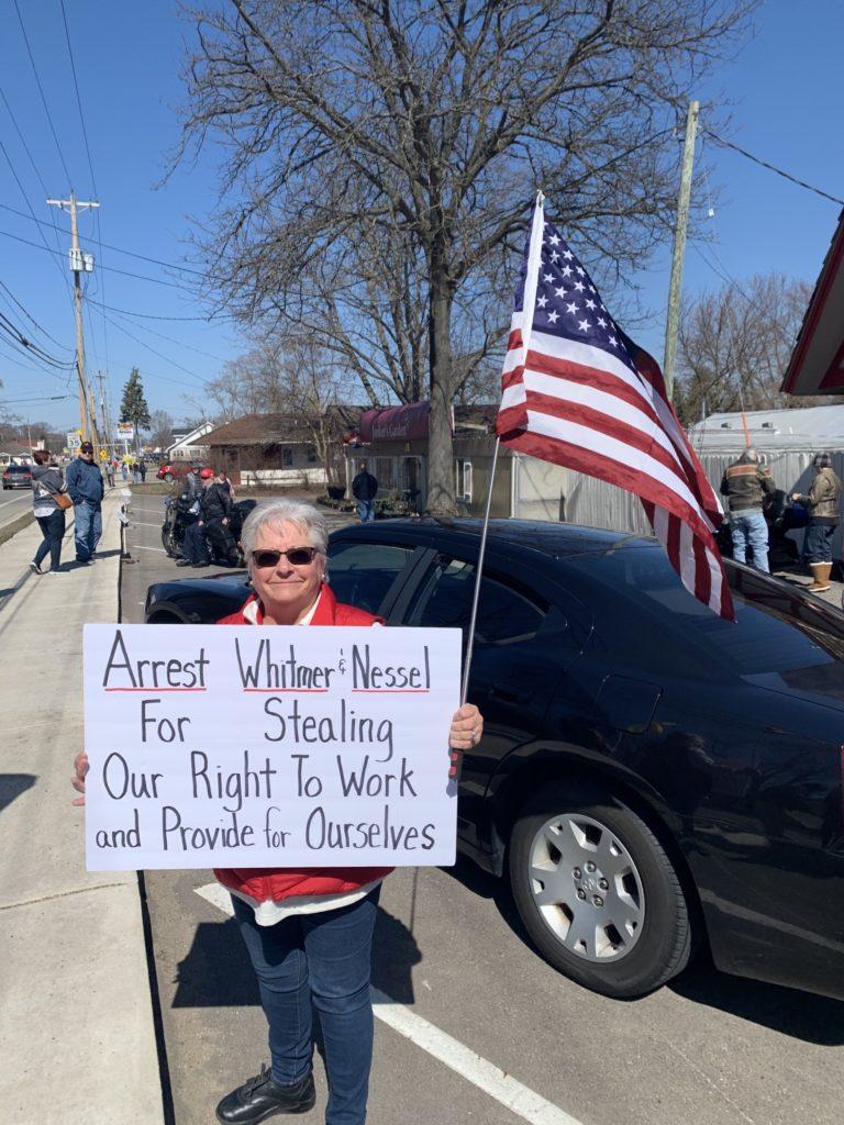 Watch: Hundreds Rally for Michigan Restaurateur Jailed over Gretchen Whitmer Coronavirus Orders 1