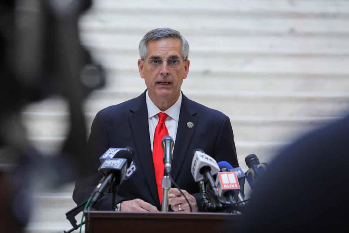 Georgia Secretary of State Brad Raffensperger Running for Reelection Despite GOP Criticism 1