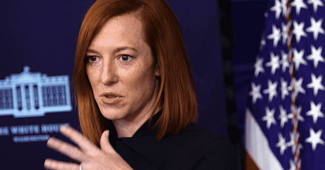 Psaki: Biden Won't 'Allow for Obstruction of Important Things Like Making It Easier to Vote' 1