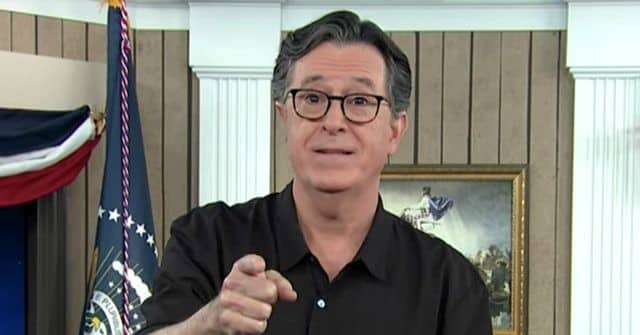 Stephen Colbert Says 'It's Time to Get Rid of' Pro 2nd Amendment GOP: Vote Them Out 1