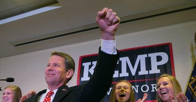 Georgia Gov. Brian Kemp Signs Election Integrity Bill 1