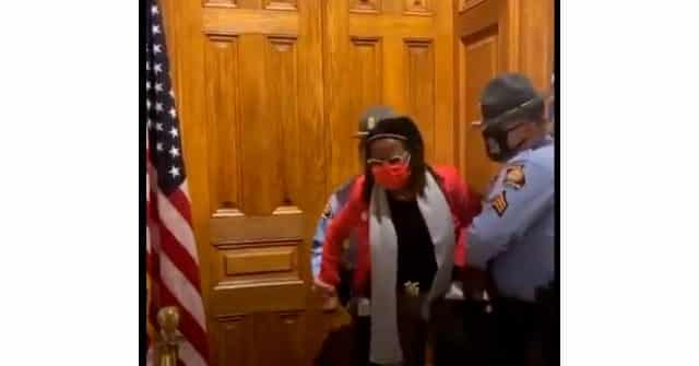 Democrat Georgia State Rep. Park Cannon Detained Outside Georgia Governor's Office 1