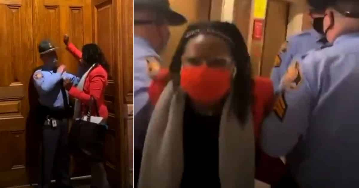 INSURRECTION? Left-Wing Lawmaker Arrested For Disrupting Democratic Process In Georgia 1