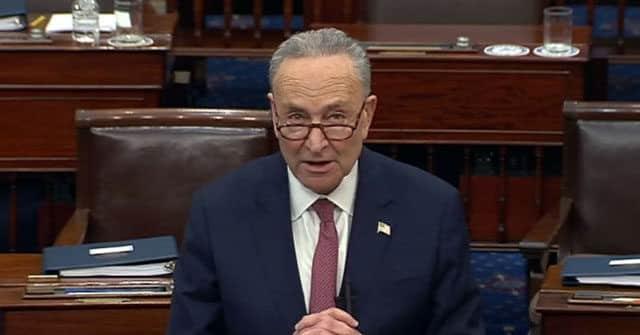 Chuck Schumer: Democrat Election Bill Will Receive Full Consideration in Senate 1