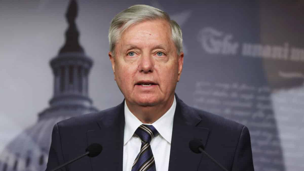 Graham Accuses Biden of Playing 'Race Card' Over Georgia Election Reform Law 1