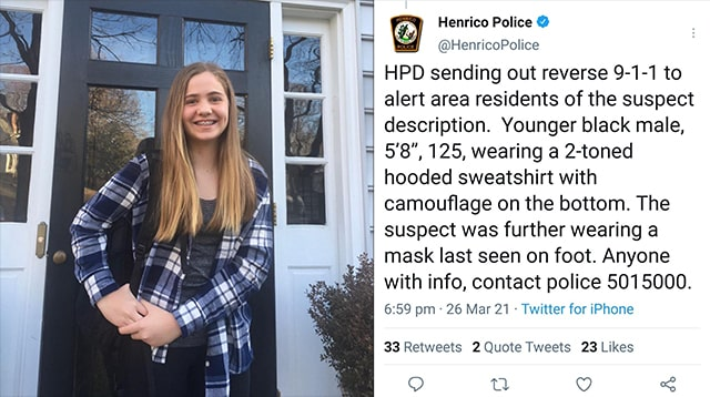 Her Name Was Lucia Whalen Bremer: 13yo Girl Shot Dead By 'Juvenile' Thug While Walking In Virginia Suburb 1