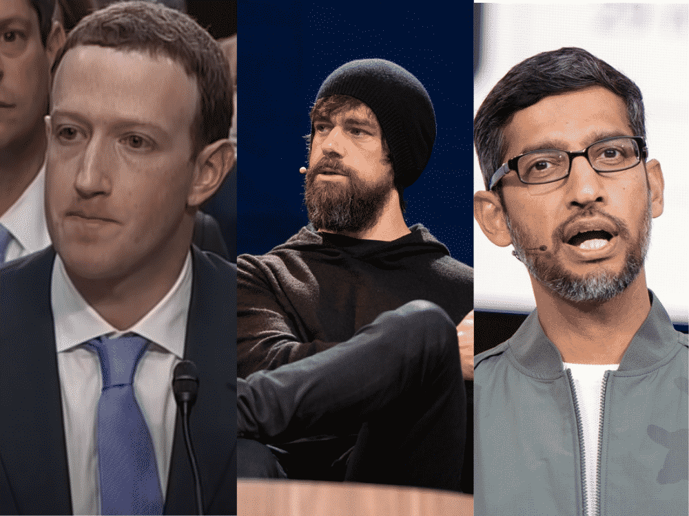 Republicans To Demand Answers From Big Tech CEOs In Censorship Hearing 1