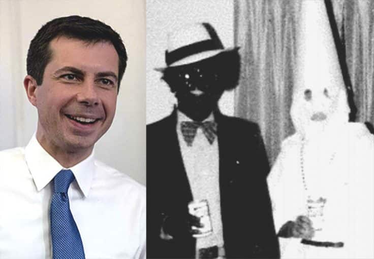 Boat Shoes Meets Blackface: Buttigieg 'Honored' to Appear with Virginia Governor He Urged to Resign 1