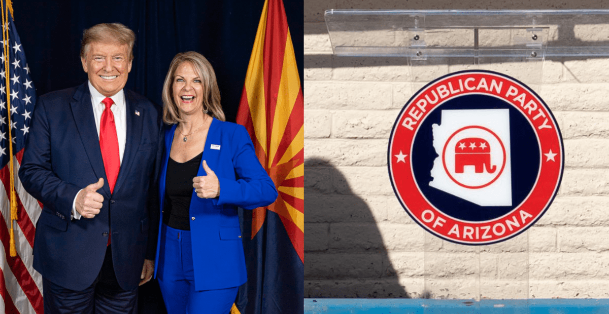 'DISGRUNTLED': After Losing To Trump Ally Kelli Ward, Arizona GOP Establishment Wants To Have A New Election 1