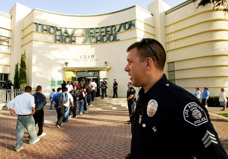California Teacher Sues Union Over Push to Defund School Police 1