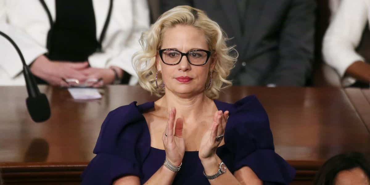 Liberals melt down on Twitter over video of Sen. Sinema's thumbs-down vote against the minimum wage hike 1