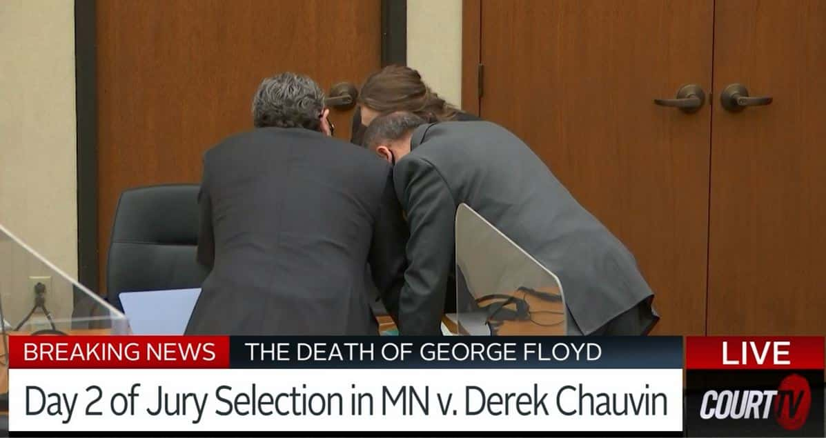 Jury Selection Continues In George Floyd – Derek Chauvin Case 1