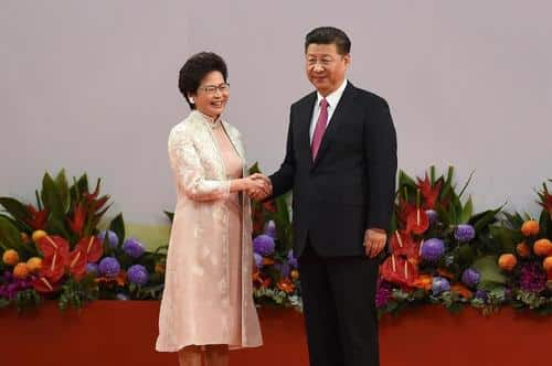 """Hong Kong'sCarrie Lam """"Fully Welcomes"""" Election Overhaul To Ensure City Run By China """"Patriots"""" 1"""