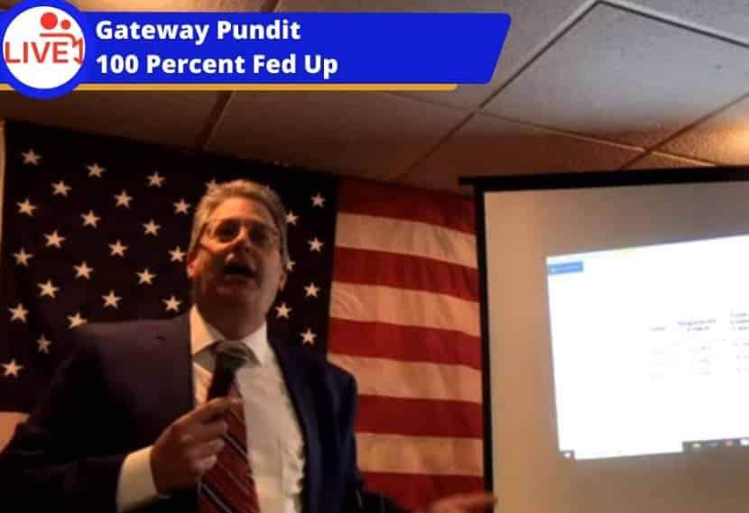 LIVESTREAM VIDEO: Michigan Attorney Matthew DePerno and Witness Melissa Carone Speak on Election Investigations at Undisclosed Michigan Location — 6:00 PM ET 1