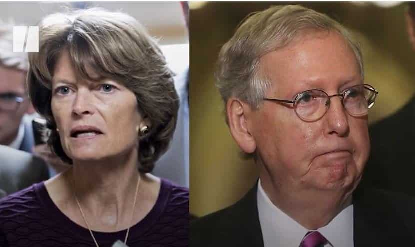 NOW THIS: Mitch McConnell Says He Will Throw His Support Behind Trump-Hating RINO Lisa Murkowski in her Reelection Bid! — He REALLY Hates His Voters 1