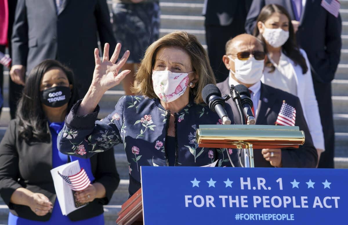 House Democrats Pass H.R. 1 Election Reform Bill by Razor-Thin Margin 1