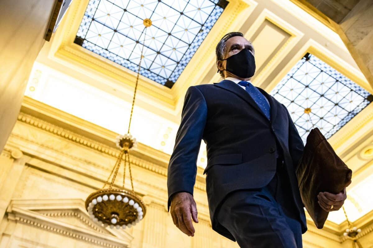 Senate Advances Biden's $1.9 Trillion Relief Package, as VP Harris Casts Tiebreaking Vote 1