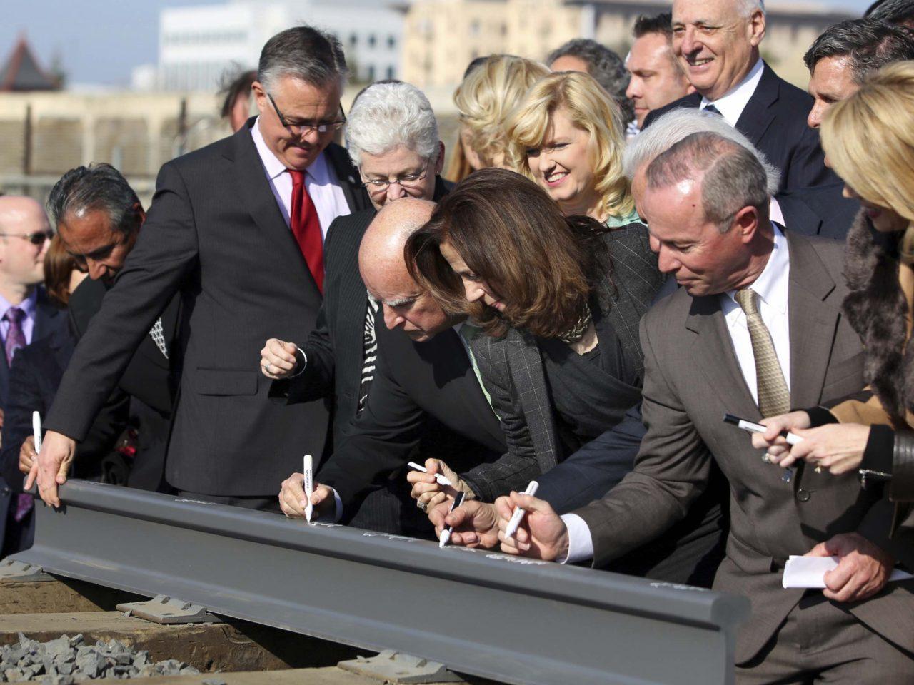 California High-speed Rail Fans Hope Biden 'Infrastructure Plan' Saves Bullet Train 1