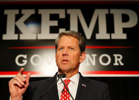 Georgia's Brian Kemp is Not Backing Down 1