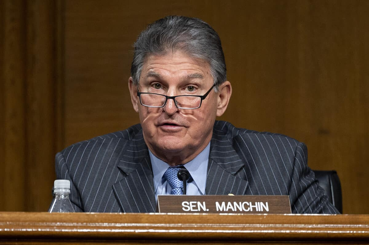 Manchin: 'No Circumstance in Which I Will Vote To Eliminate or Weaken the Filibuster' 1