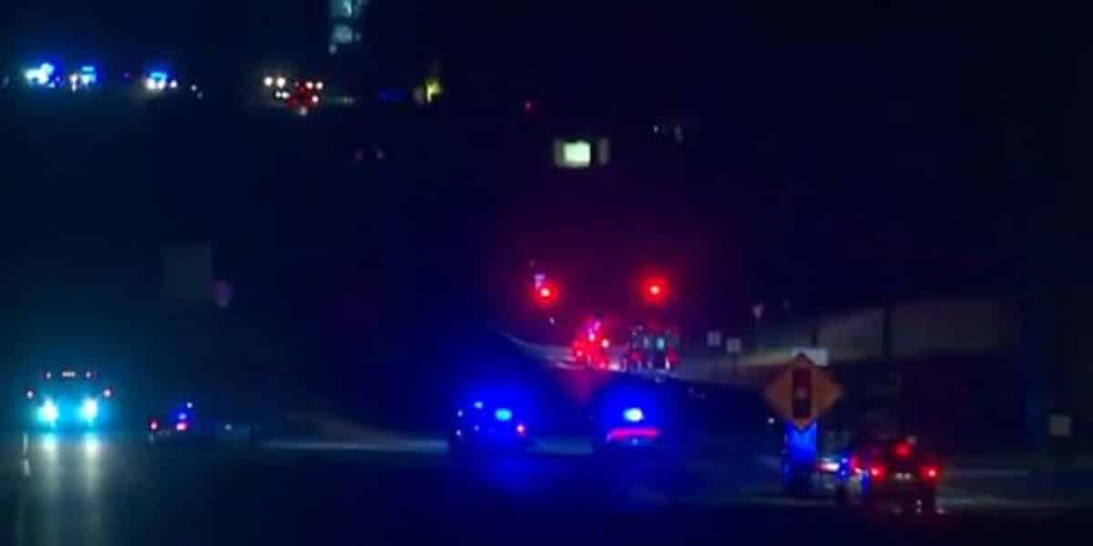 3 Georgia police officers shot, one suspect killed, and another apprehended after chase 1