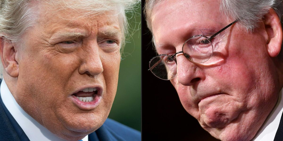 Mitch McConnell responds to Trump calling him a 'dumb son of a b***h' over the election 1