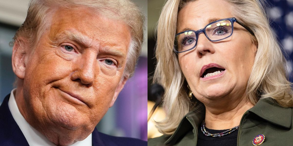Liz Cheney says she will not vote for Trump if he runs again in 2024, and he responds immediately 1