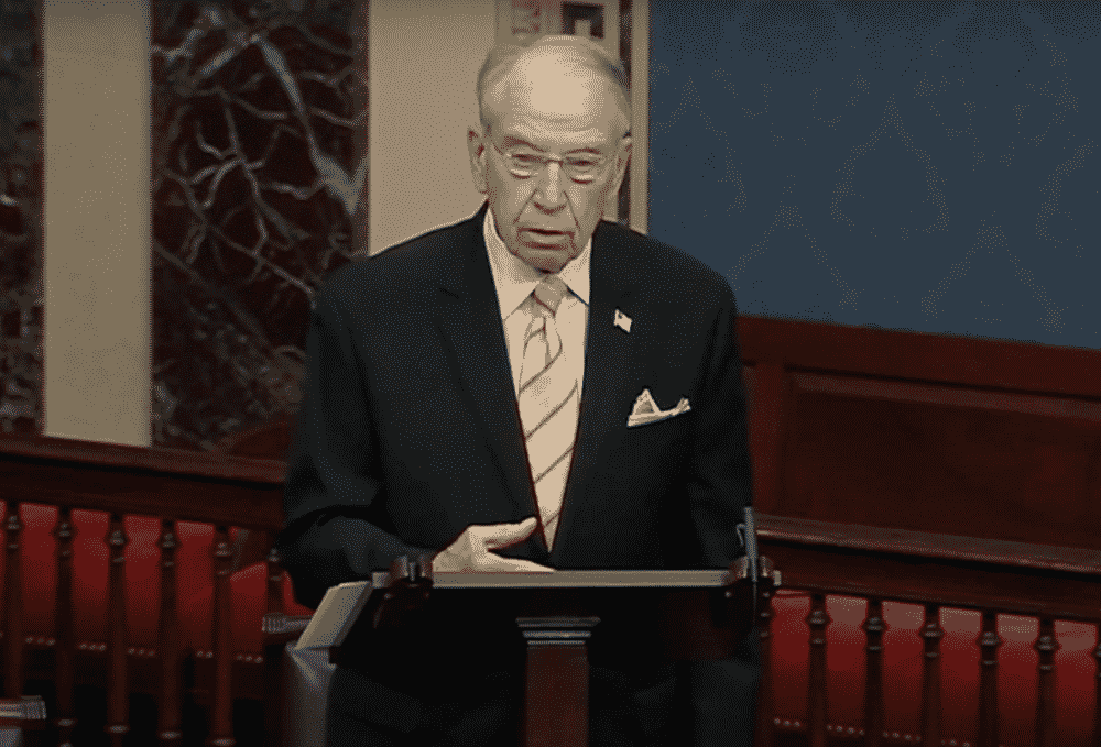 Sen. Grassley Blasts Big Tech Censorship Under 'Sweeping' Section 230 Immunity: 'The System Is Rigged' 1
