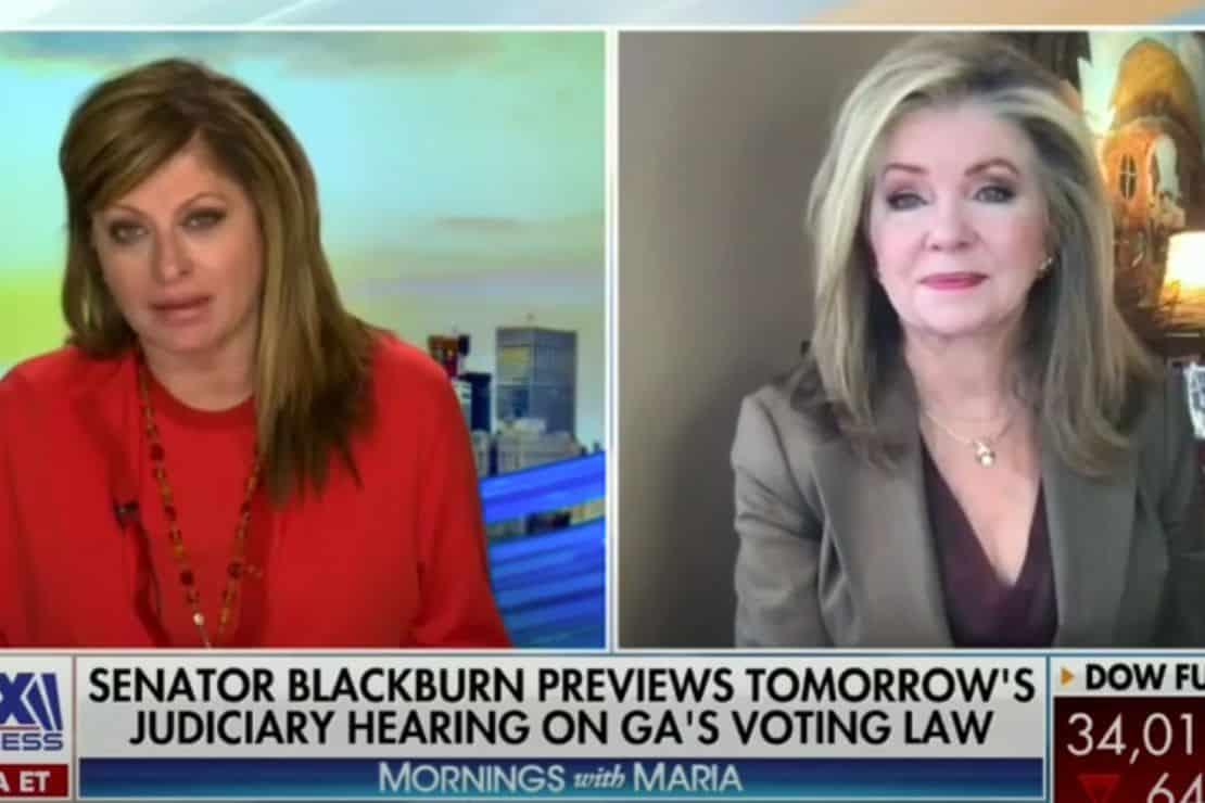 WATCH: Sen. Marsha Blackburn Hits Back at Dem Lies About Georgia Bill 1