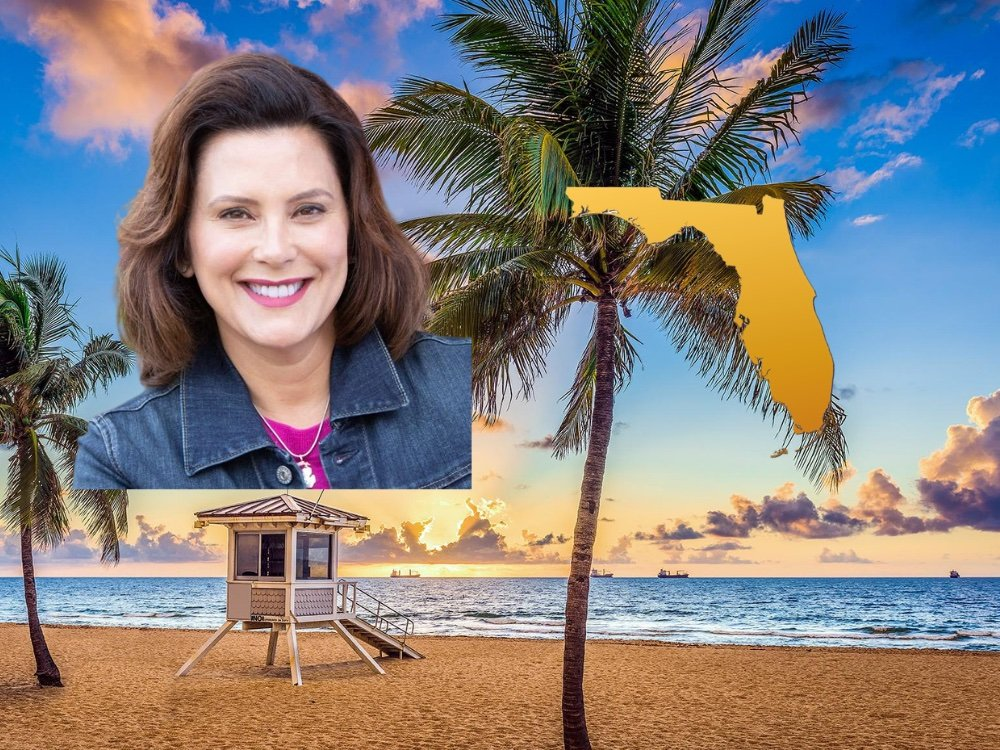 Gov. Gretchen Whitmer Visited Her Elderly Dad In Florida While Telling Michiganders Not To Travel 1