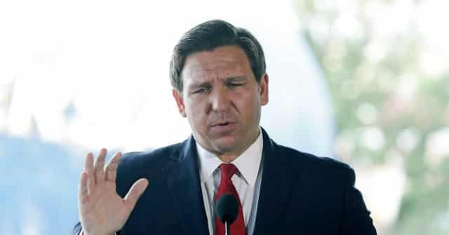 Exclusive — DeSantis Says Florida Will 'Immediately Sue' over Democrats' National Takeover of Elections 1