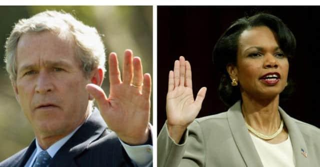 George W. Bush Wrote-In Condoleezza Rice in 2020 Election 1