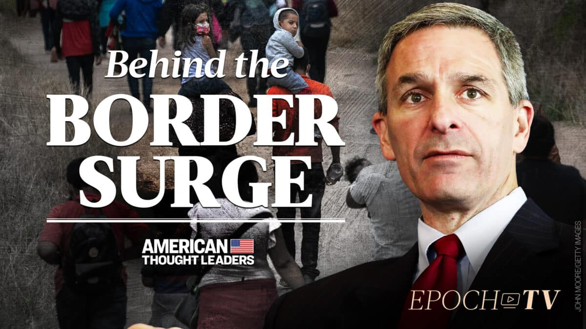 Ken Cuccinelli: Radical Left Wants to Exploit Border Surge to Win Elections 1