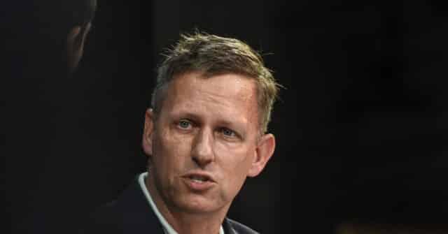 Report: Peter Thiel Backs Republican Blake Masters in Arizona Senate Race Against Mark Kelly 1