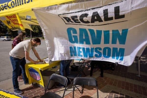 Effort to Recall California Gov. Newsom Has Enough Signatures to Make Ballot 1