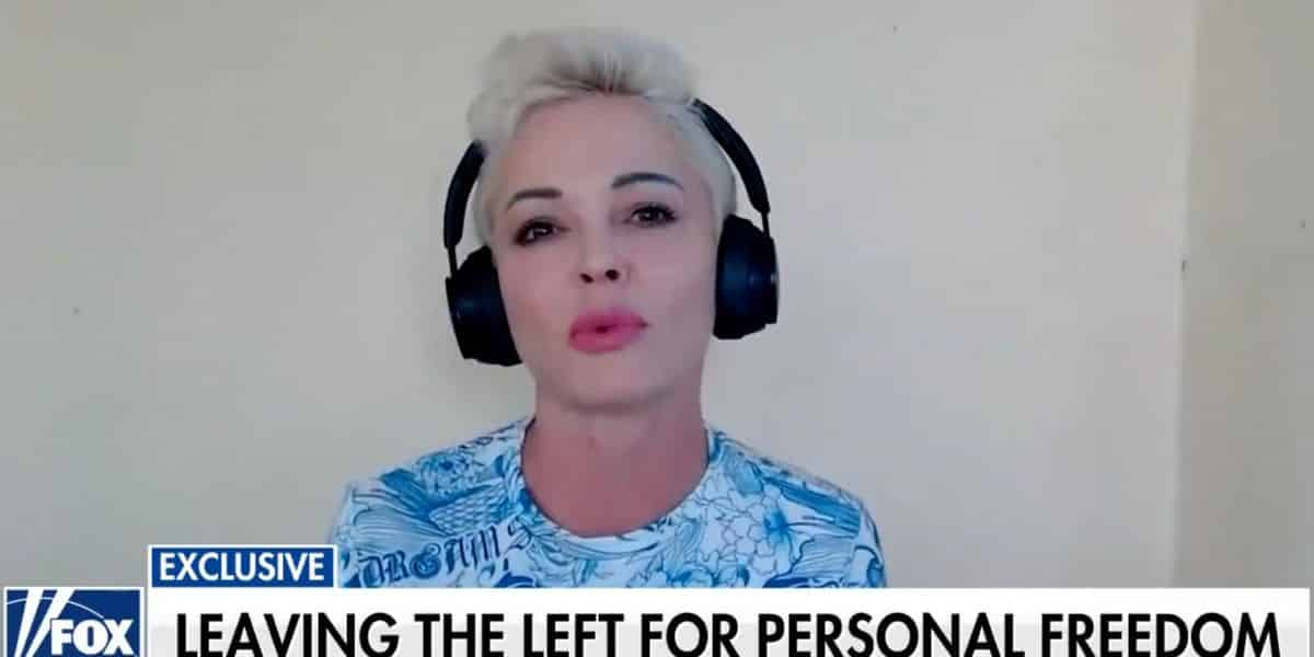 Actress Rose McGowan says Democratic voters are in a 'deep cult.' She'd know — she was raised in one. 1