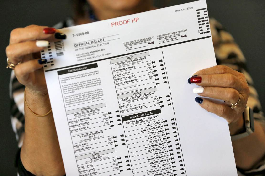 Maricopa County 2020 Election Audit Will Be Presented to Arizona Senate Friday 1