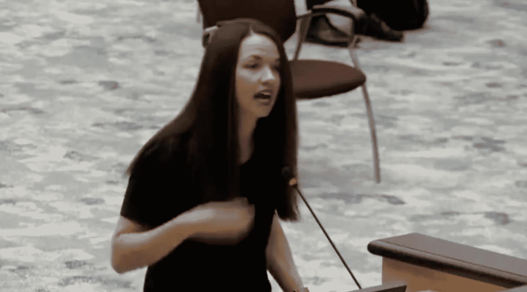 WATCH: Georgia Mother's Stunning Anti-Child Masking Speech. 1