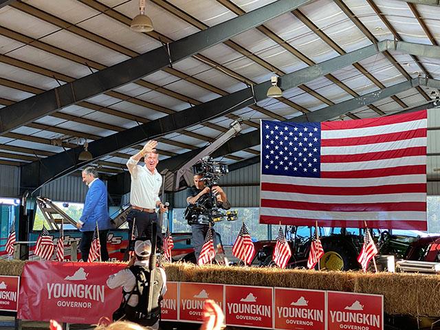 Republican Hopefuls in Virginia Governor's Race Compete in 'Unpredictable' Convention 1