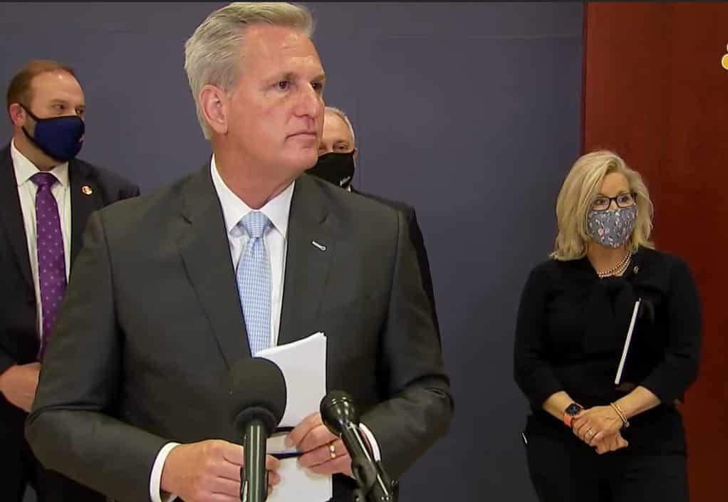 House Minority Leader Kevin McCarthy Announces Vote To Recall Liz Cheney From Leadership 1