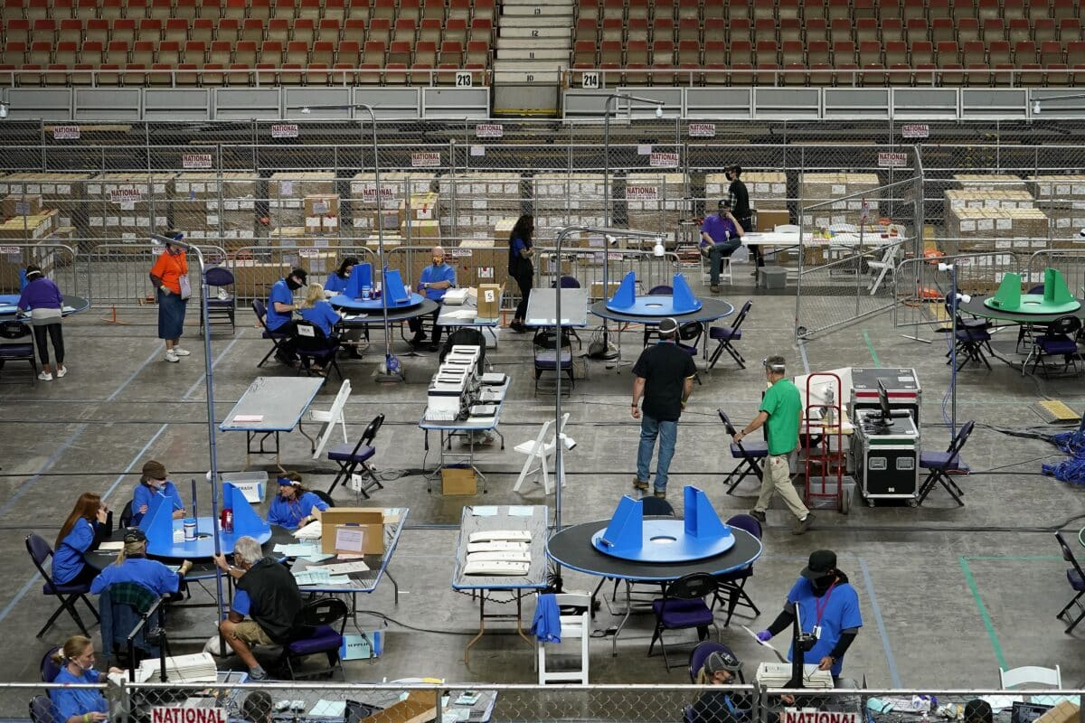 13 Percent of Maricopa County Ballots Counted in Audit So Far: Official 1
