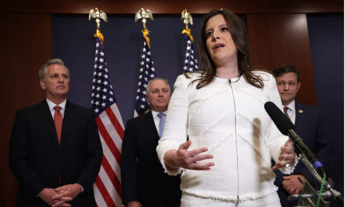 GOP Chair Elise Stefanik: Justice Department Is 'Trying to Block' Maricopa County Audit 1