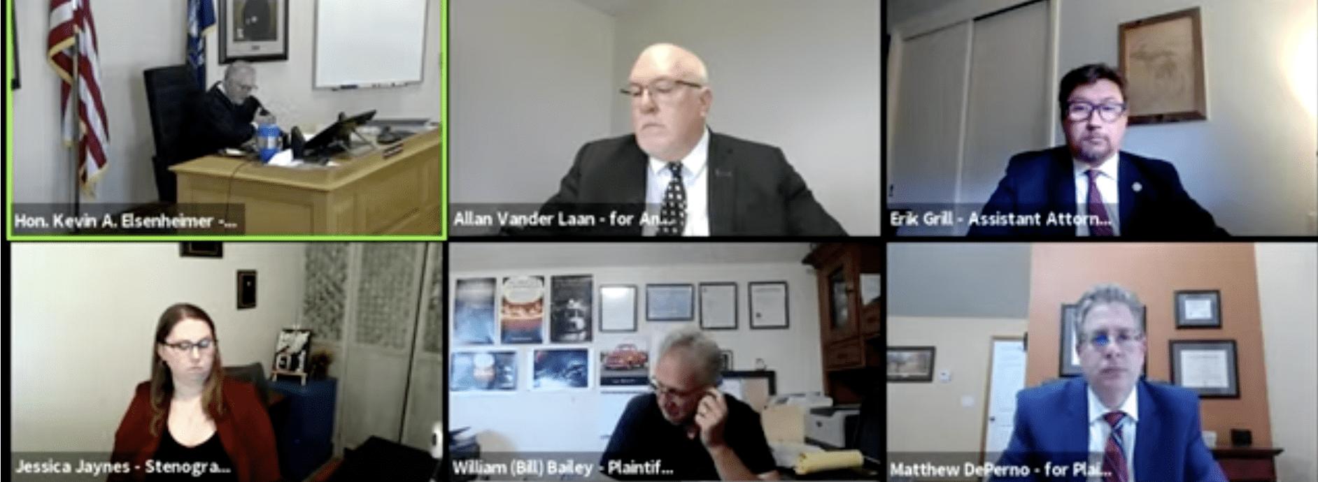 BREAKING VIDEO: MI Judge Makes Stunning Decision on Antrim Co. Voter Fraud Case 1