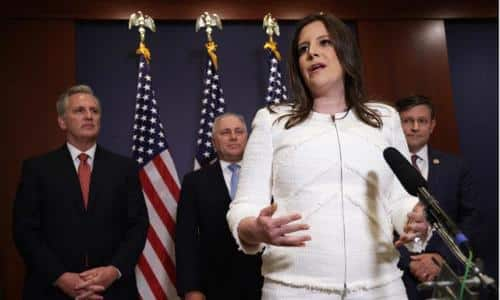 """GOP Chair Elise Stefanik: Justice Department Is """"Trying To Block"""" Maricopa County Audit 1"""
