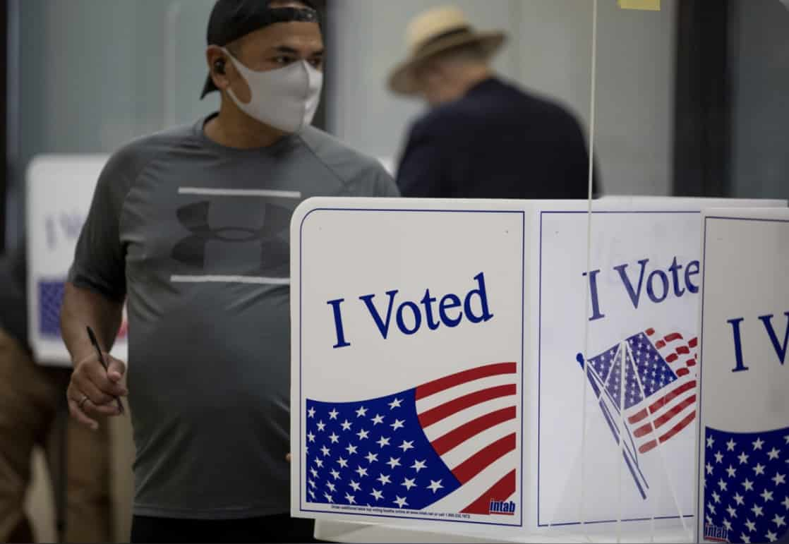 BREAKING: PA County Judge Says Republican Ballots Cannot Be Scanned. 1
