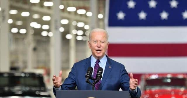 Biden in Michigan Ignores Record Allowing China to Buy Up American Electric Vehicle Industry 1