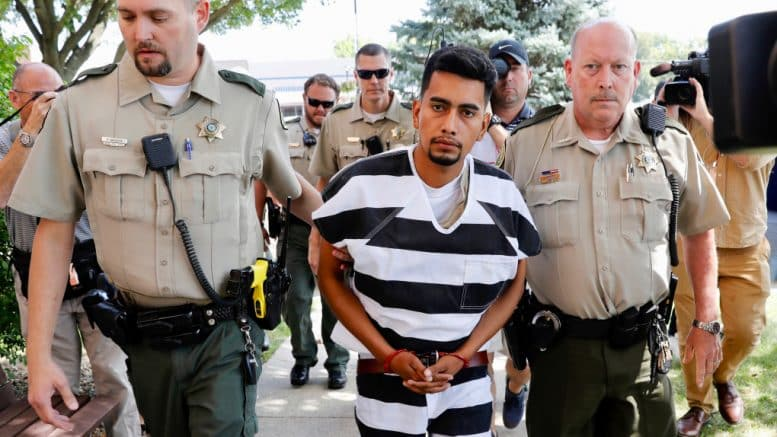 Jury selection under way in trial of illegal immigrant 1