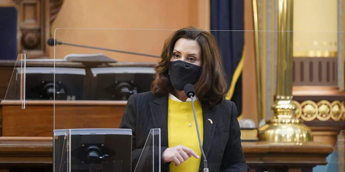 Michigan Governor Whitmer lifts COVID-19 restriction she was busted violating over the weekend 1