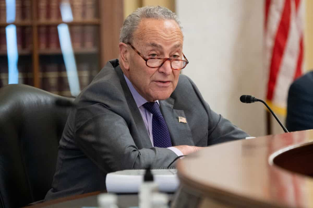Schumer Sets Up Potential Vote on Jan. 6 Commission Bill 1
