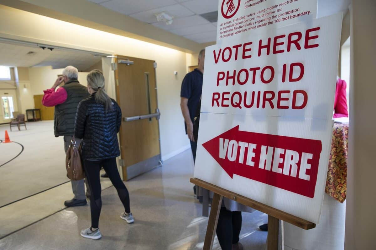 Democrats and Republicans Spar Over State Election Voter ID Laws 1